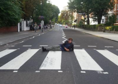 Warlus Abbey road